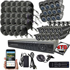Sikker Standalone 32 Ch Channel 720P DVR 24 HD Video Camera Security system 4TB