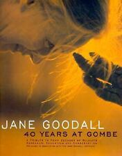 Jane Goodall : 40 Years at Gombe by Jane Goodall Institute Staff (1999,...