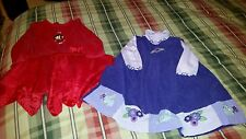 Toddler Girls Dresses Nick Jr. Dora Red & Little Goodies Jumper 18M Christmas