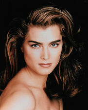 """Brooke Shields Publicity Shoot 10"""" x 8"""" Glossy Photographic Print"""