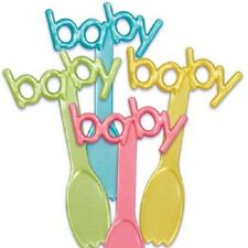 Baby Shower Spoon Picks Cupcake Toppers
