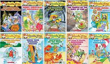 Geronimo Stilton Series Collection Set Books 11-20 Brand New Gift Quality!
