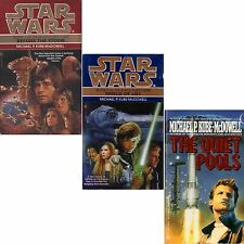 LOT 3 PB Michael P. Kube-McDowell QUIET POOLS STAR WARS SHIELD LIES BEFORE STORM