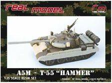 "1/35th Real Model Czech T-55 AM5 ""Hammer"" conv"