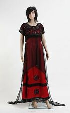Classic Movie Rose Jump Dress Costume Victorian Fancy Dress Costumes Tailed