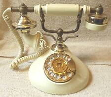 VINTAGE PHONES--ANTIQUE ROTARY TELEPHONE--KOREAN MADE--VERY NICE--GREAT PATINA!!