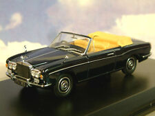 SUPERB OXFORD DIECAST 1/43 ROLLS ROYCE CORNICHE CONVERTABLE INDIGO BLUE 43RRC001