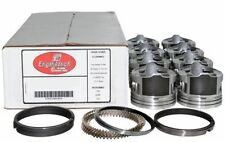 Piston & Ring Kit Chevy 5.3L Voretc 1999-2004 Enginetech Flat Top Pistons