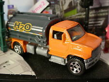 2015 CONSTRUCTION ZONE Design UTILITY TRUCK 2006☆Orange/Gray; H2O☆Loose MATCHBOX