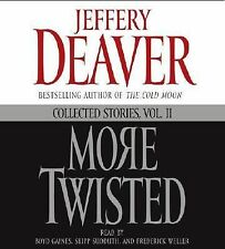 MORE TWISTED by JEFFERY DEAVER - GREAT AUDIO BOOK W/ FREE SHIPPING
