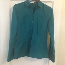 Hugo Hugo Boss Blue Button Up Button Down Shirt Size 40 Long Sleeve Collared