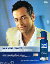 PUBLICITE ADVERTISING 085  2005  NIVEA MEN  soins de la peau homme