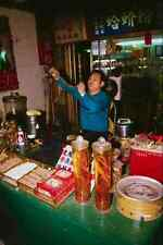 766056 Snake Man Night Market Taipei Taiwan A4 Photo Print