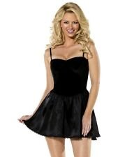 Bijou Boutique Black Mini Dress S UK 8/10 Sexy black dress - Ladies Fancy Dress