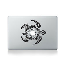 Tribal Turtle Vinyl Decal for Macbook (13/15), Laptop or Guitar
