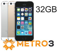 Apple iPhone 5S 32GB Mobile Phone | Unlocked | SILVER | A GRADE REFURBISHED