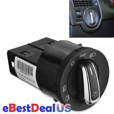 For VW Golf GTI Jetta MK4 Beetle Passat B5 Bora Chrome Euro Headlight Switch New