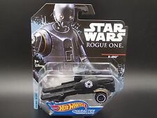 STAR WARS ROGUE ONE K-2S0 K-2SO HOT WHEELS CHARACTER CAR 2016 CASE E RARE NEW!