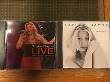 CD Taylor Dayne x 2 Naked Without You, Live 2002 recording rare TGG Direct press