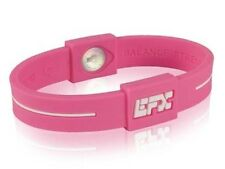 Silicone Bracelet Wristbands, Golf /Bowling/Sports, breast cancer pink size 6""