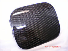 93-97 Honda Del Sol Carbon Fiber Fuel Door Gas Lid