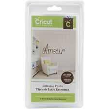 Extreme Fonts Cricut Cartridge - Brand New & Sealed!