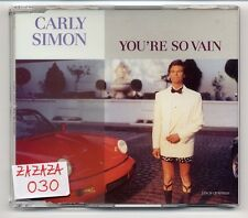 Carly Simon Maxi-CD You're So Vain - German 3-track CD
