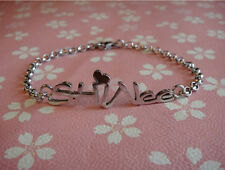 HOT Items Shinee Ring Ding Dong Lucifer KPOP Stainless Steel Bracelet UK EW