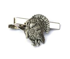 Turkey Farming Tie Clip Bar Slide Tack Mens Present Bow Hunting Gift