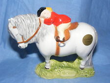 John Beswick Thelwell Pony Sleepy Heads Grey JBT2GR Pony Club Gift Present NEW
