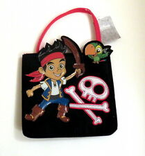 """Disney Jake and the Pirates Felt Purse 10"""" high Not Counting Handle"""