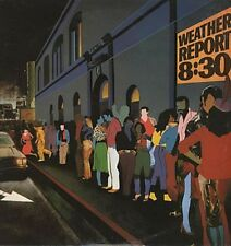 WEATHER REPORT 8:30 1979 UK double VINYL LP EXCELLENT CONDITION live