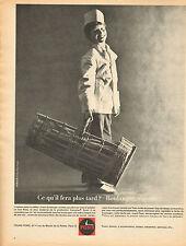 Publicité 1966  FOURS PONS pour vous les boulangers