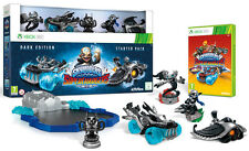 Skylanders SuperChargers Starter Pack Limited Dark Edition XBOX 360 IT IMPORT