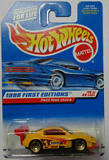 1998 Hot Wheels First Edition Pikes Peak Celica 15/40 (Yellow Version)