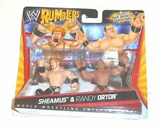 2010 WWE Rumblers ~ SHEAMUS & RANDY ORTON ~ Brand New on Card - MOC MIB MISB