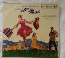 """The Sound of Music RCA Victor Mono 12"""" LP + booklet EXC"""