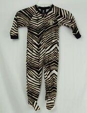 NFL Football Saints 12 Months Full Footed Sleeper Pajamas Onsie Baby Toddler
