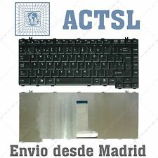 TECLADO ESPAÑOL NEGRO KEYBOARD SPANISH BLACK TOSHIBA SATELLITE L300D-224