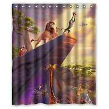 High Quality Bathroom The Lion King Waterproof Shower Curtain 60 x 72 Inch