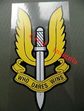 Special Air Service [SAS]  vehicle sticker.