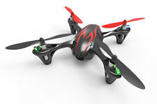 Hubsan X4 Quadcopter RTF with Video Camera and LED Lights - Black/Red