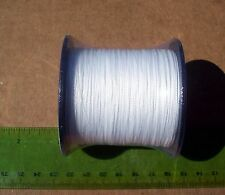 550yds (500m) SUPERLINE 30lb test WHITE Braid Fishing Line,Durable & Strong,