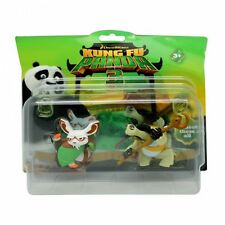 """Dreamworks Kung Fu Panda 3 """"SHIFU & OOGWAY"""" Action Figure Pack Toy New"""