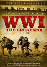 World War 1 - The Great War: The Heritage Collection, Good DVD, n/a, n/a