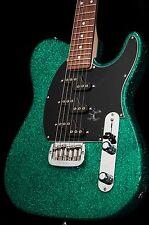 G&L ASAT Z-3 Green Metal Flake Electric Guitar w/ hard case