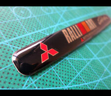 MITSUBISHI SPORT RALLIART EVO RALLY Lancer evolution JDM Car EMBLEM Badge #2