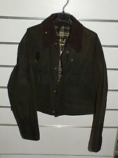 barbour spey fishing jacket   waxed cotton  L
