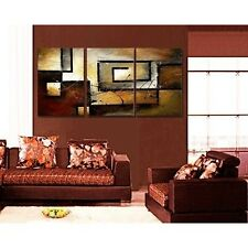Wall Art for Office Home Modern Abstract Oil Hand Painted Decor Framed Canvas