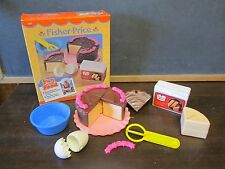 Fisher Price Fun with Food Cake Baking Fun Set Duncan Hines Yellow Mix Whisk Box